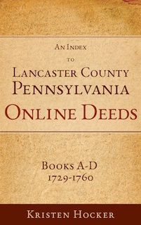 Lanc Co PA Deed Index