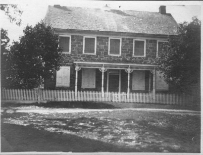 Anna (Hocker) Seltzer house, 1905