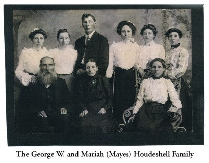 George W. and Mariah (Mayes) Houdeshell