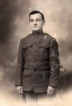 Granville Hacker in WWI uniform