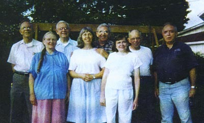 Nora (Hoover) Rice family