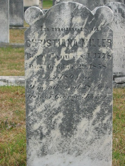 Christiana (Miller) Hocker (1778—1858)