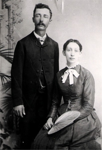 Samuel Augustus HOCKER and Amanda Elizabeth CRUM