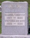 Samuel T. Hoover (1857-1930) and Victoria Walker (1858-1938)