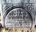 Barbara (Smith) Hocker (1787-1878)