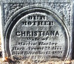 Christiana (Beinhauer) Hocker (1777-1808)