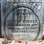 Gravestone of Martin HOCKER (1768—1862)