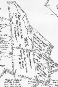 George Huber's Salt Lick Township property