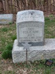 Gravestone of Jacob R. Hacker