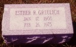 Esther R. Greulich (1908-1975)