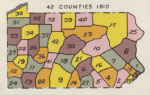 Pennsylvania Counties in 1810