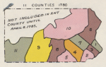 Pennsylvania Counties in 1780