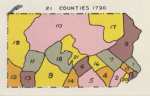 Pennsylvania Counties in 1790