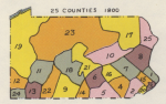 Pennsylvania Counties in 1800