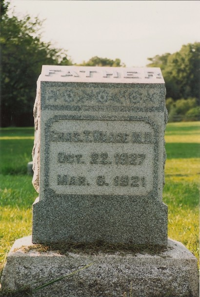 Dr. Charles T. Waage (1827-1921)