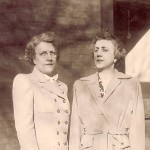 Verna and Alma Greulich, circa 1929