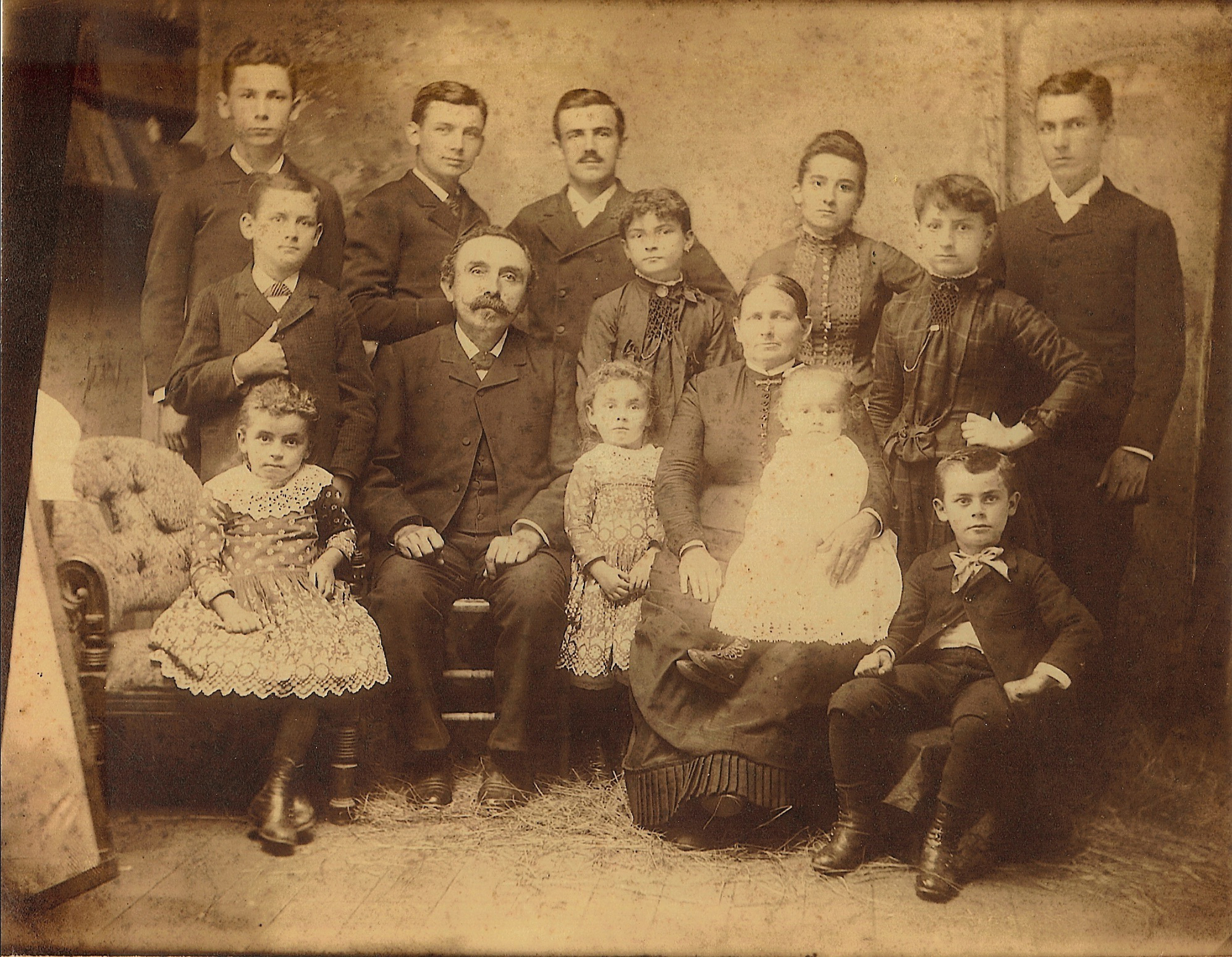 Charles Greulich family (c 1887)