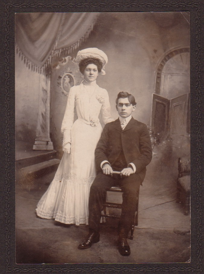 Elmer and Lillian (Snyder) Greulich (c 1901)