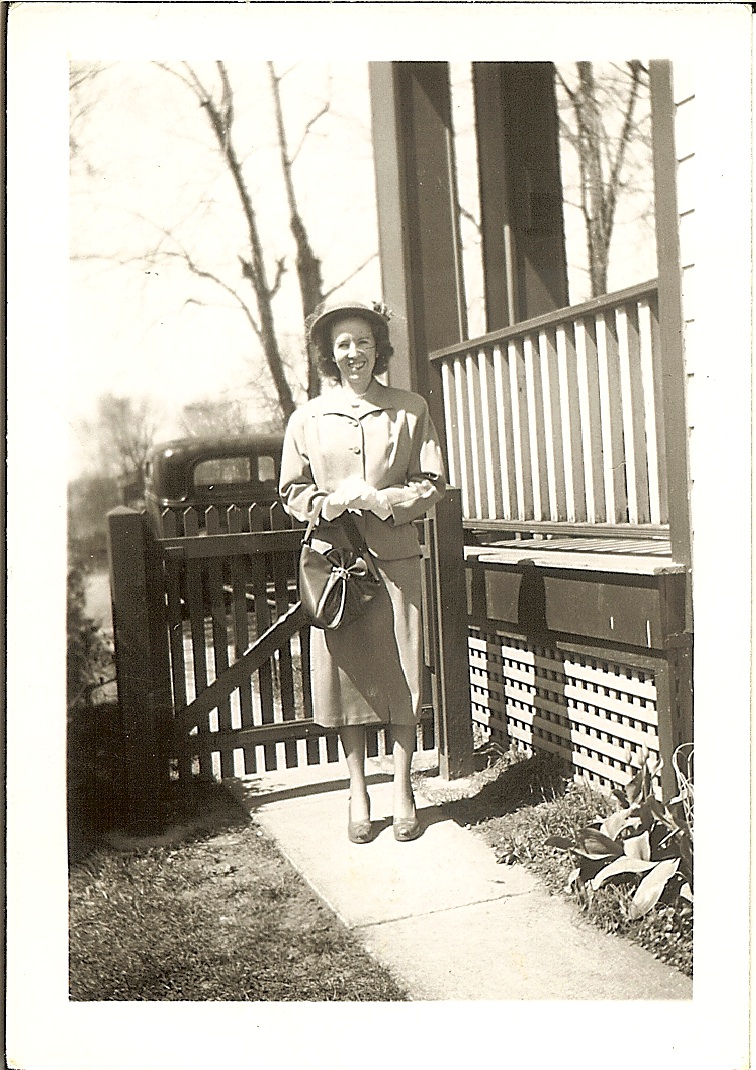 Betty Jean Hocker Easter 1949