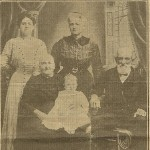 4 Generations of Witmers, ca 1912