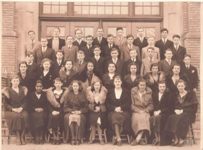 William Penn High School Class Photo, circa 1921/22