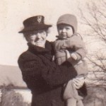 Mary (Waage) Wieder and grandson