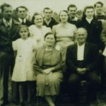 Clyde and Nora (Houdeshell) Hoover family
