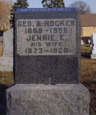 George A. and Jennie (Miller) Hocker