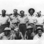 My grandfather's crew building crew