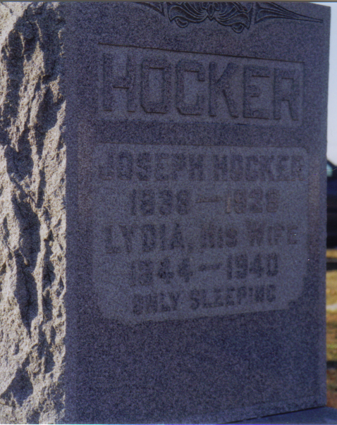 Joseph and Lydia Hocker