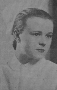 Helen Wieder 1935 Nursing School Graduation Photo