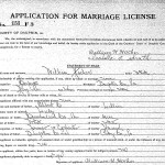 Marriage Record-William Hocker and Isabella Smith