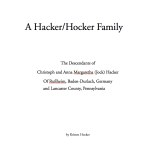 A Hacker-Hocker Family Book