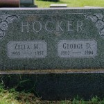 George D. and Zella (___) Hocker