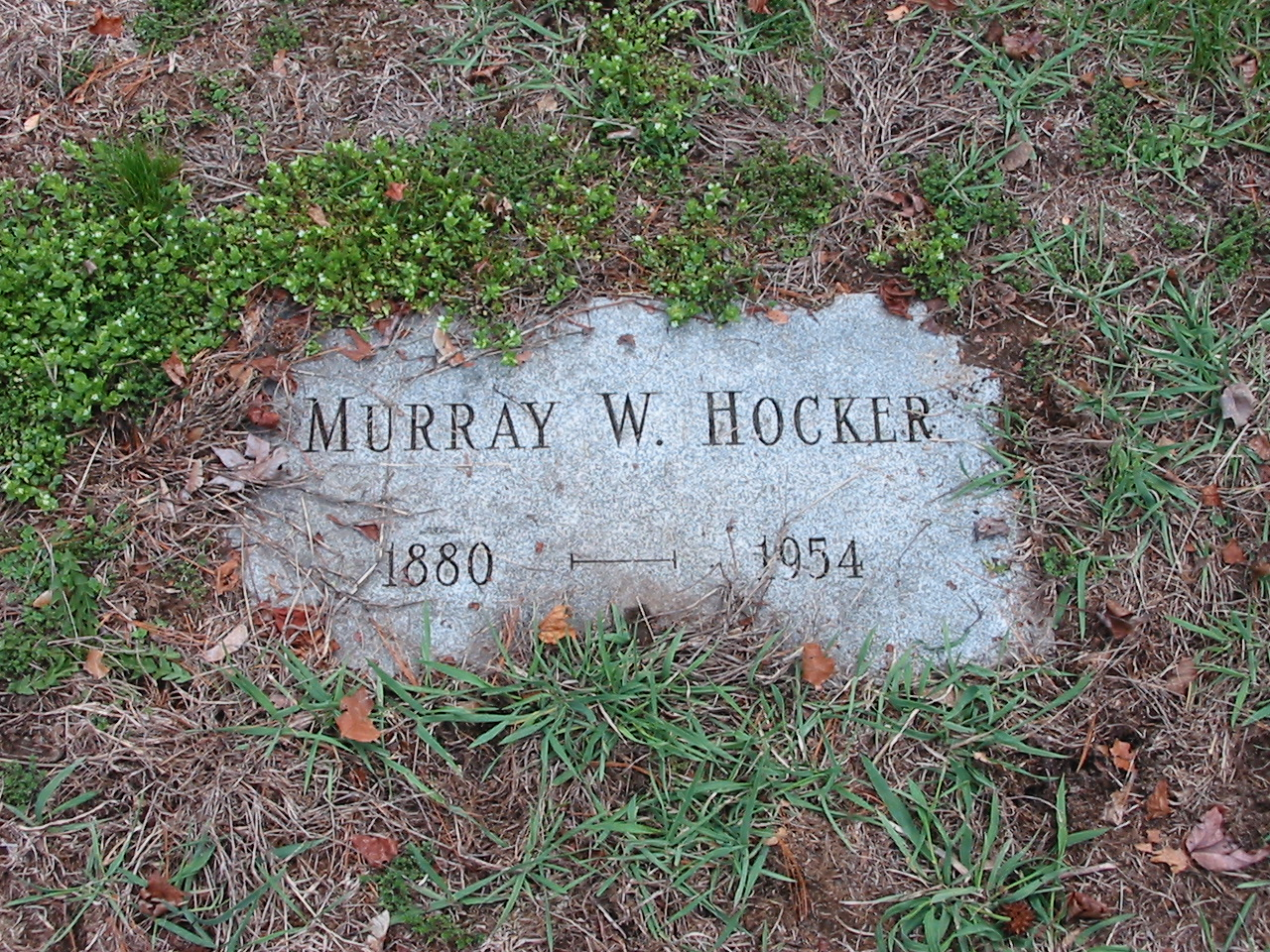 Murray W. Hocker (1880-1954)