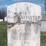 Nancy (Kettering) Stauffer gravestone