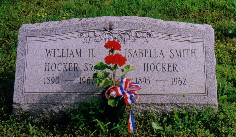 William H. Hocker (1890-1967) and Isabella A. (Smith) Hocker (1893-1962)