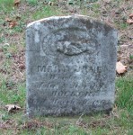 Mary Jane Hocker gravestone