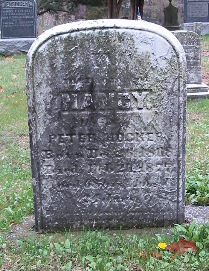 Nancy Hocker gravestone