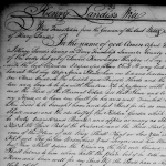 1785 will of Henry Landis of Derry Township