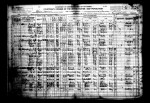 Friday Find: Benjamin W. Hocker's 1920 Census Entry