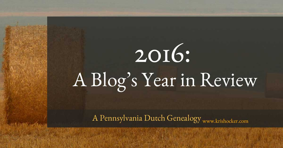 2016 A Blog's Year in Review