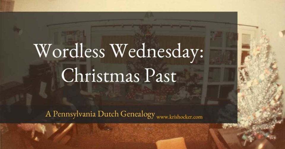 Wordless Wednesday: Christmas Past