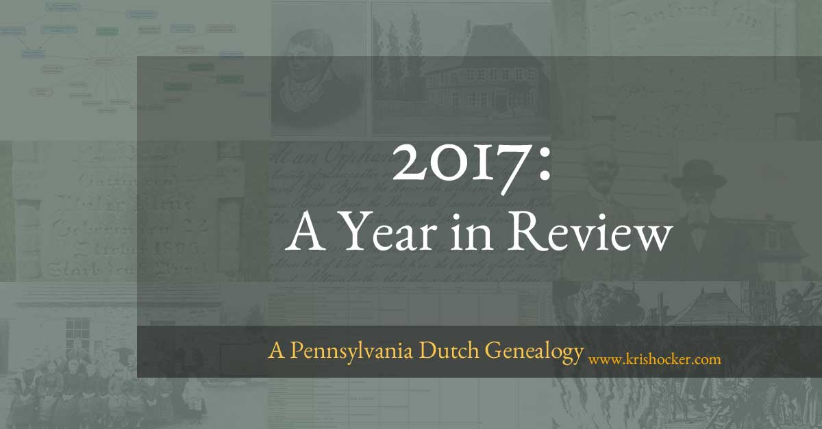 2017 A Year in Reivew